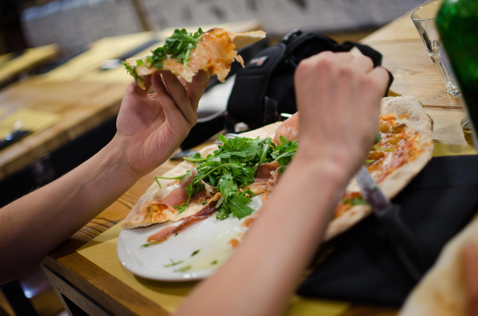 Pizza z rukolą