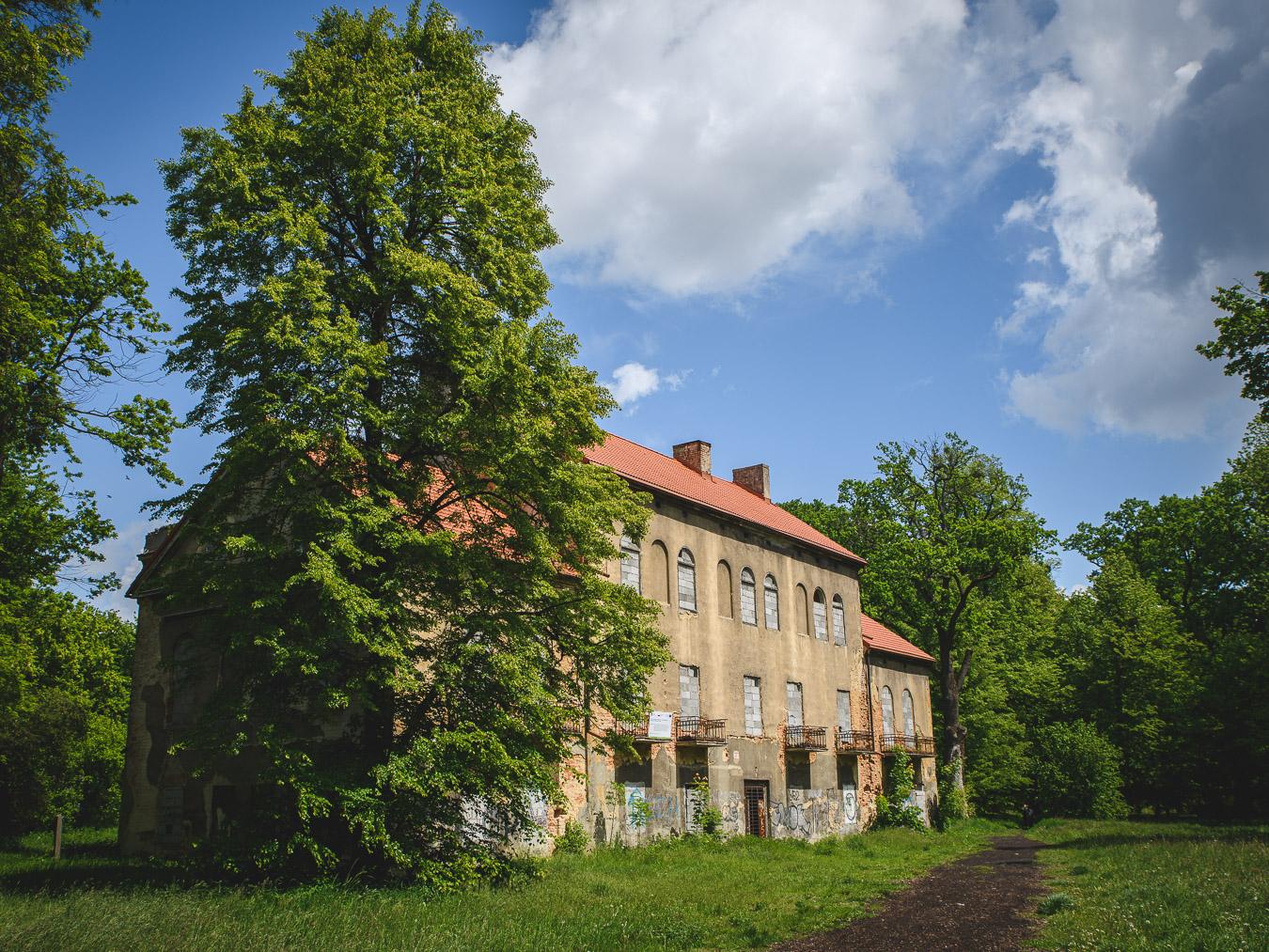 Pałac w Baranowicach