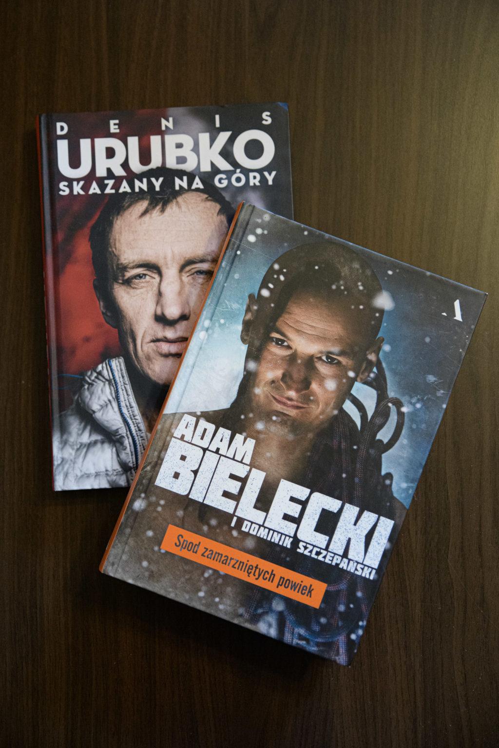 Biografie Adama Bieleckiego i Denisa Urubki – literatura górska Agory