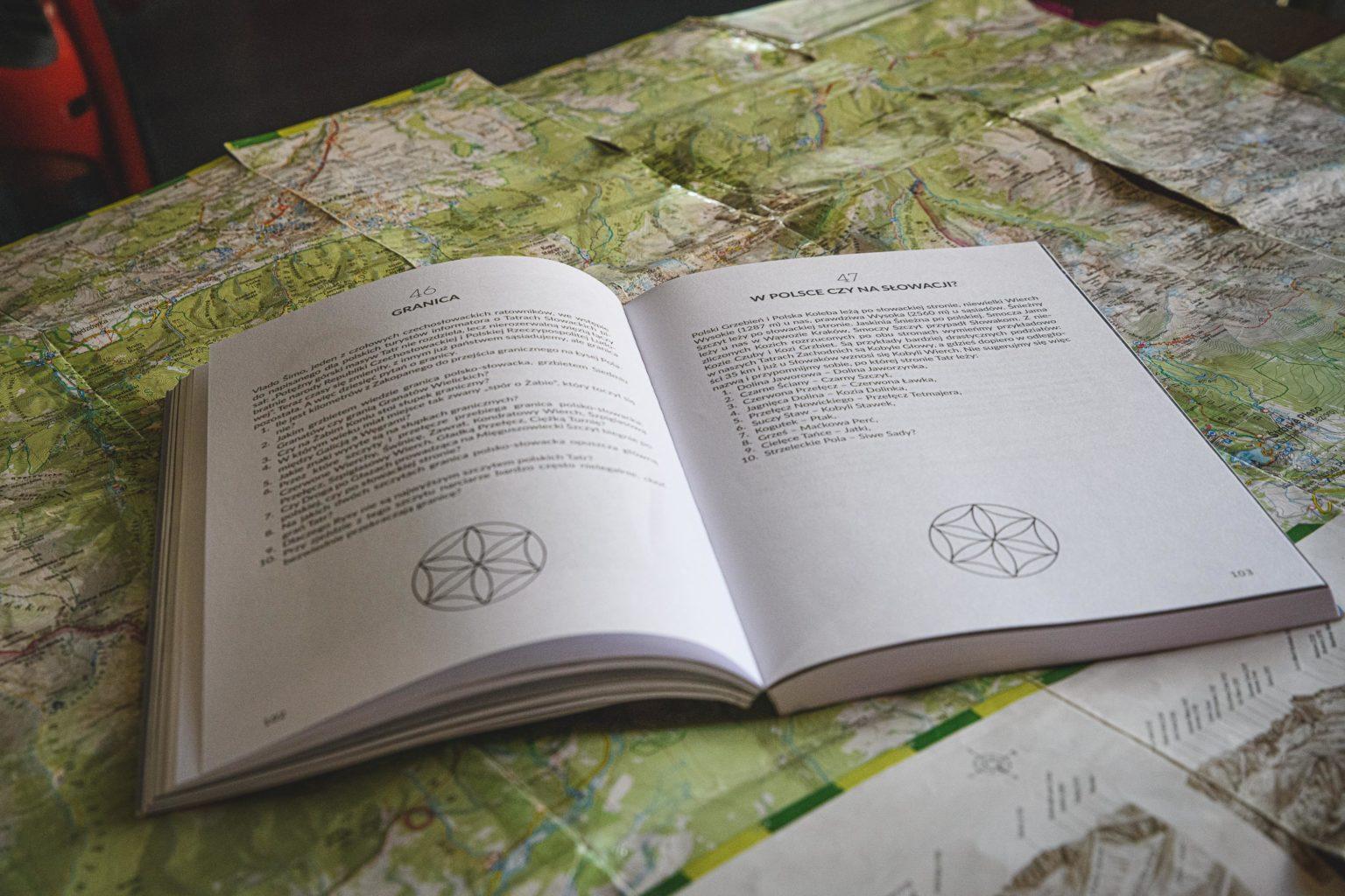 Książka 555 zagadek o Tatrach