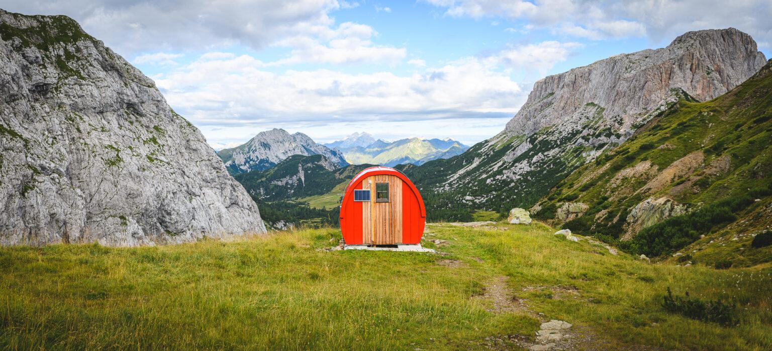 Bivacco w Alpach Karnickich