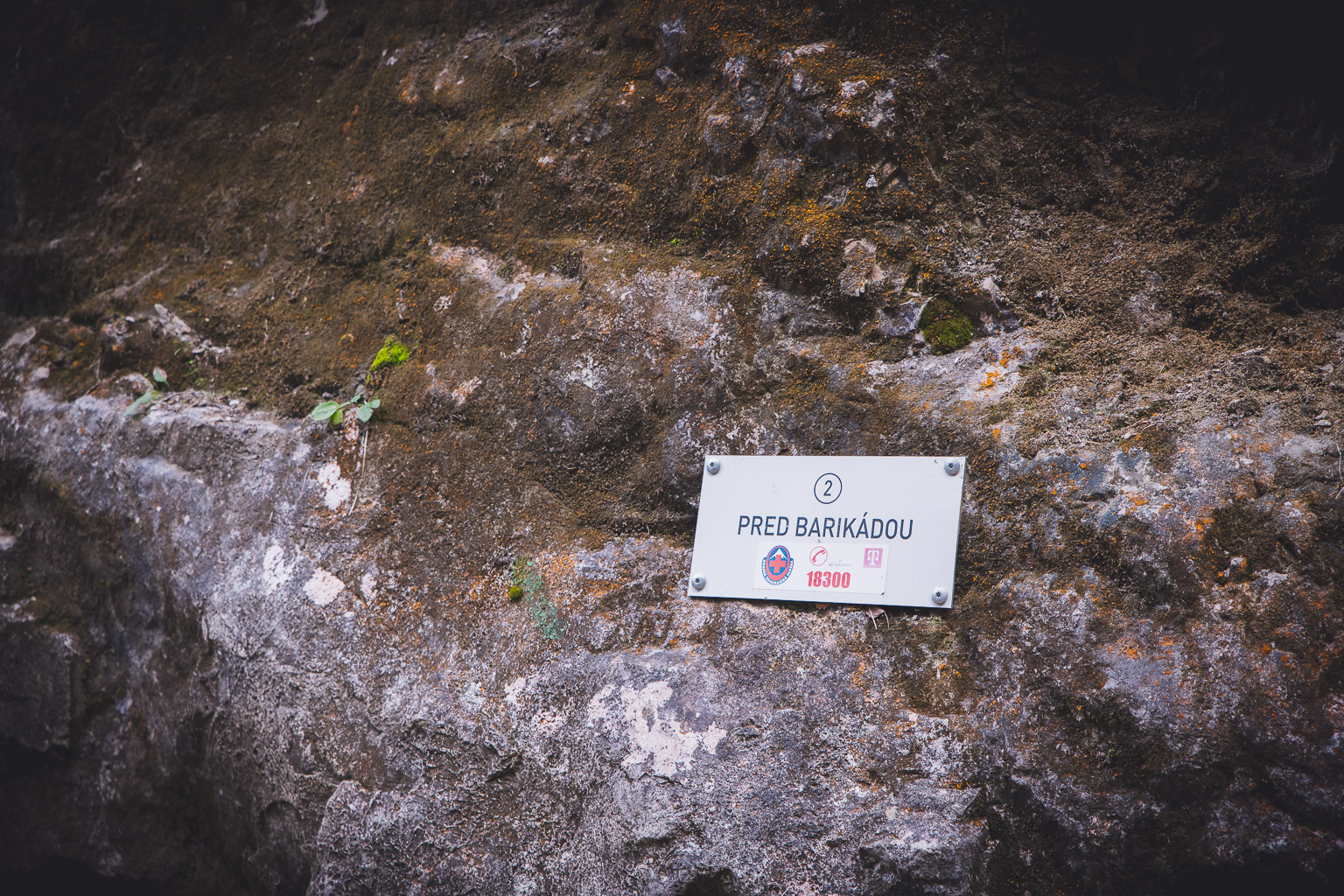 Tabliczka Barikadovy wodospad