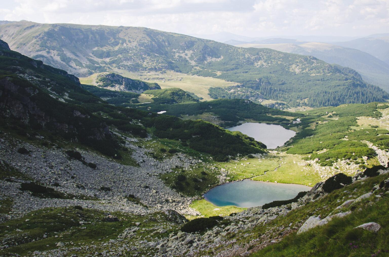 Jeziora odwiedzone podczas trekkingu w Rumunii