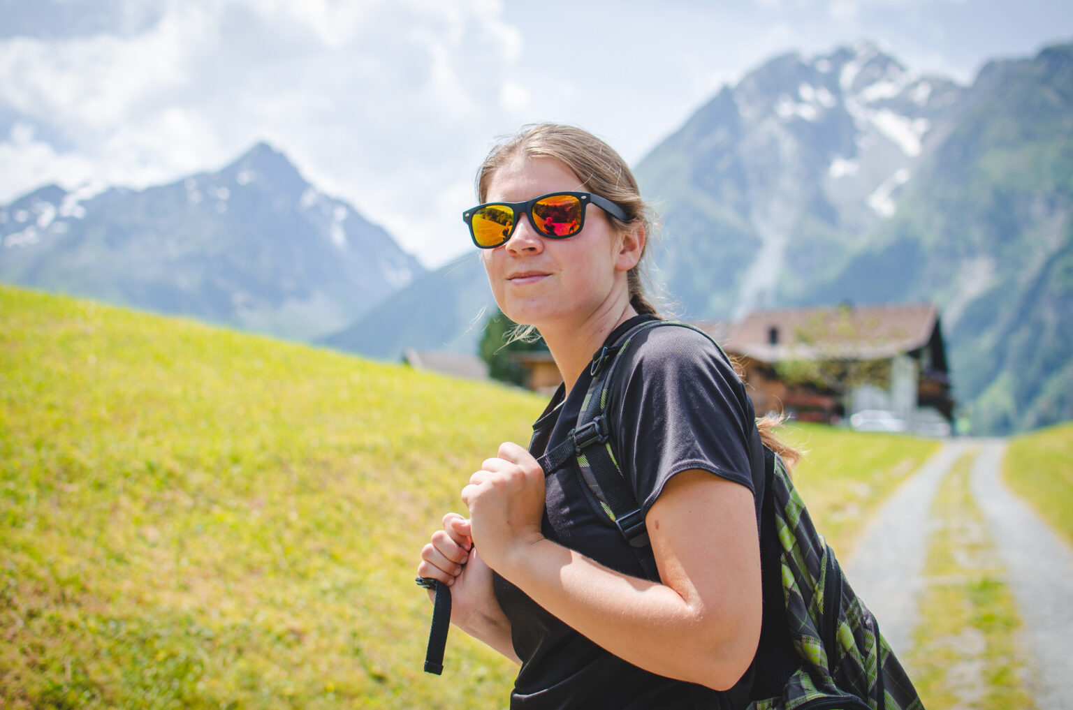 Monika w Alpach Sztubajskich