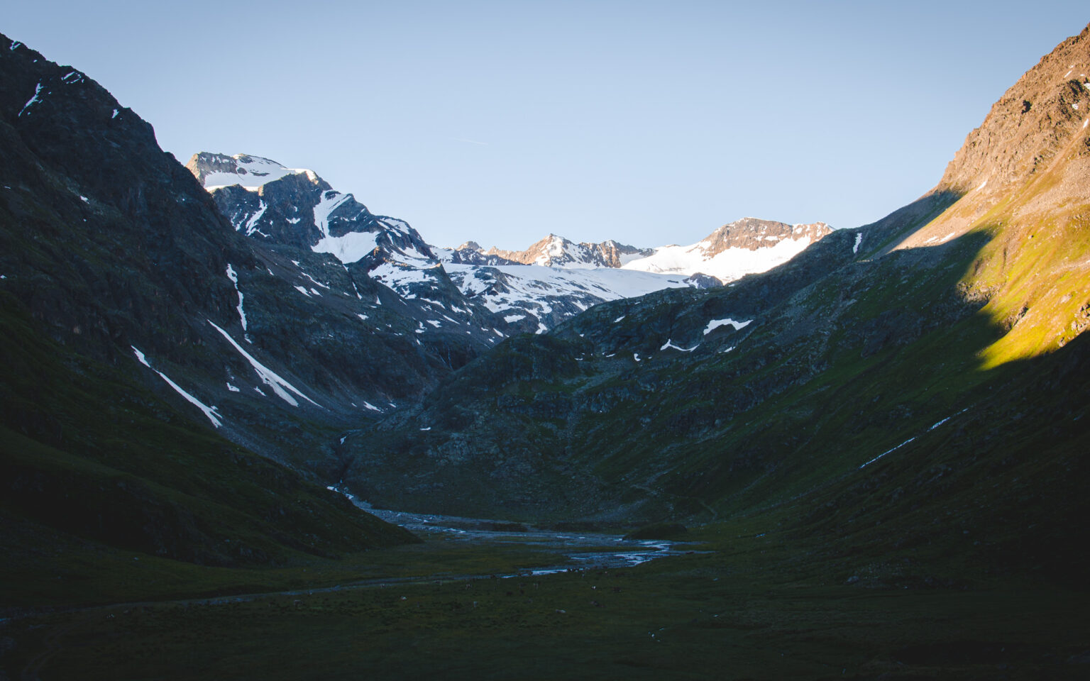Sultzal - dolina pod Schrankoglem