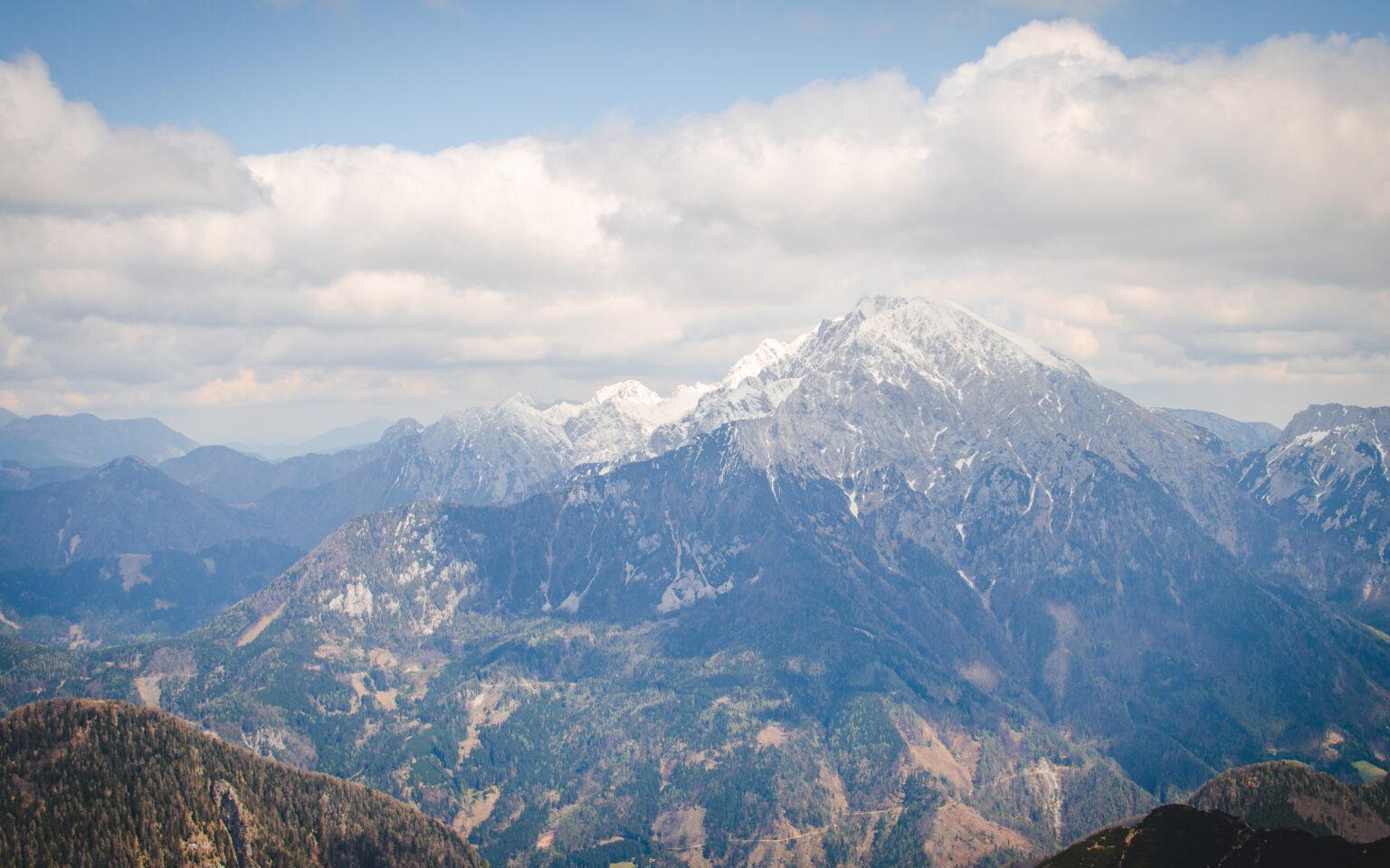 Widok na Grintovec