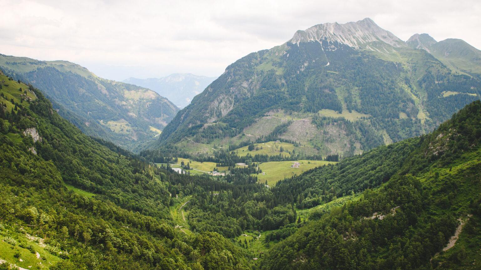 Widok na Alpy Karnickie